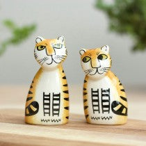 Hannah Turner - Tiger Salt And Pepper Shakers