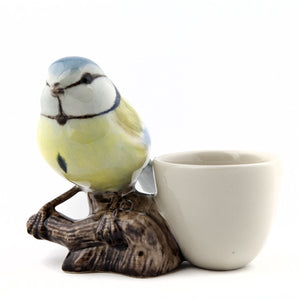 Quail - Blue Tit with Egg Cup