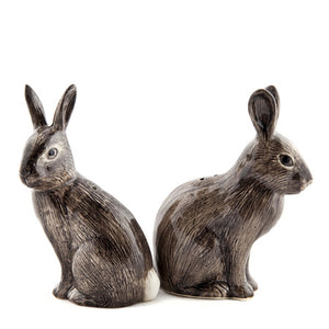 Quail - Wild Rabbit Salt and Pepper Set