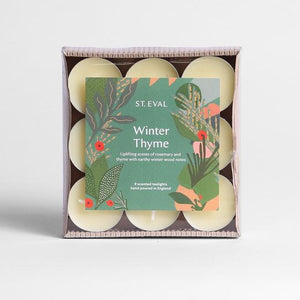 St Eval Candle Co - Tealights - Winter Thyme