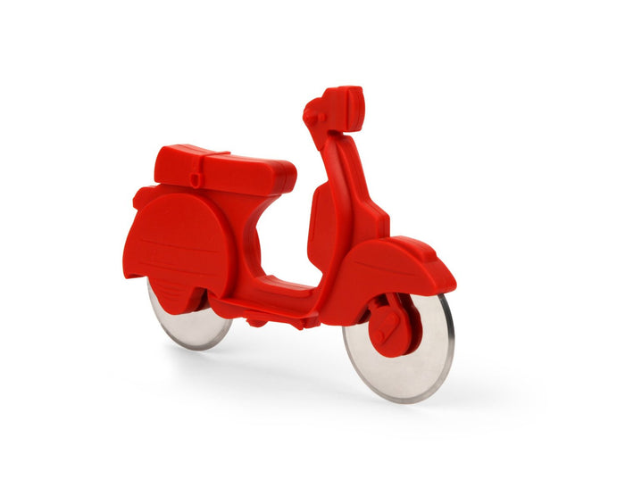 Pizza scooter Cutter in Red