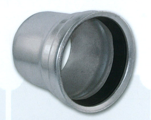 Bush Hog Female Coupler - Galvanized