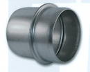 Bush Hog Male Coupler - Galvanized