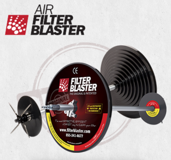 Air Filter Blaster For Vacuum Truck Filter