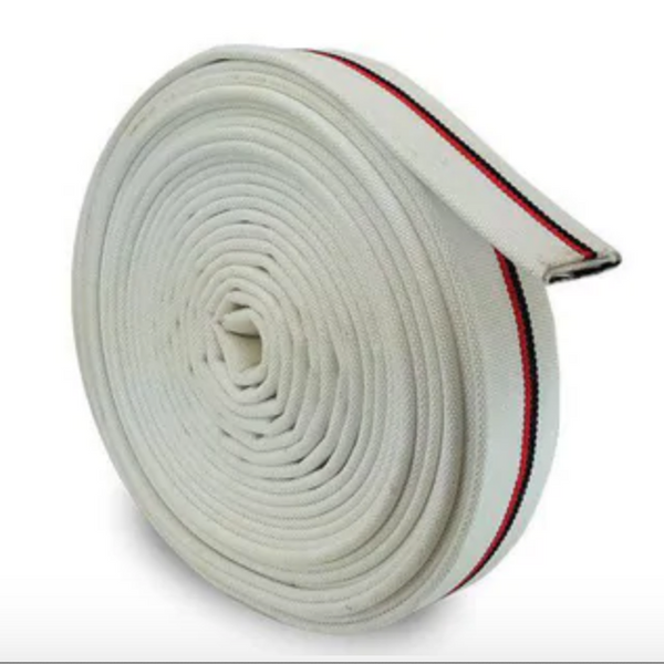 Fire Hose - Single Jacket Milled