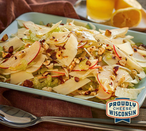Apple Fennel Salad with Parmesan