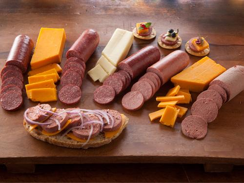 Cheese and Sausage Gift Sampler