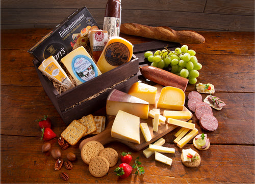 Brown Box Gourmet Gift Basket
