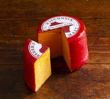 Load image into Gallery viewer, Cheddar Red Wax Wheel Three Pound