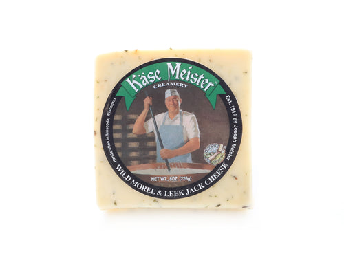 Monterey Jack Cheese with Morel and Leek