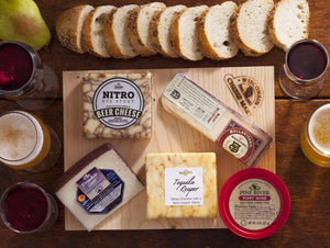 Drunken Cheese Board