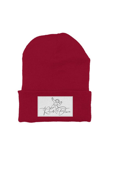 Rise and Blossom beanie