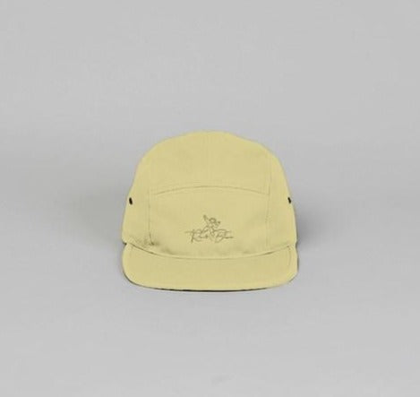 Khaki 5 panel camper hat