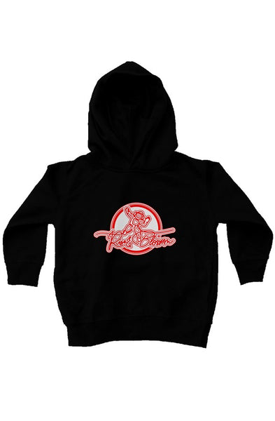 Rise and Blossom kids fleece pullover hoodie