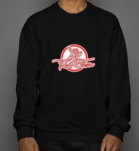 Rise and Blossom crew neck sweatshirt
