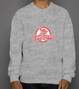 Rise and Blossom Grey crew neck sweatshirt
