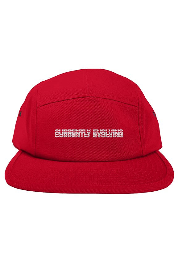 Currently Evolving Red original 5 panel