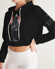 Load image into Gallery viewer, Rise & Blossom X Anime DOPE ASF Women's Cropped Hoodie