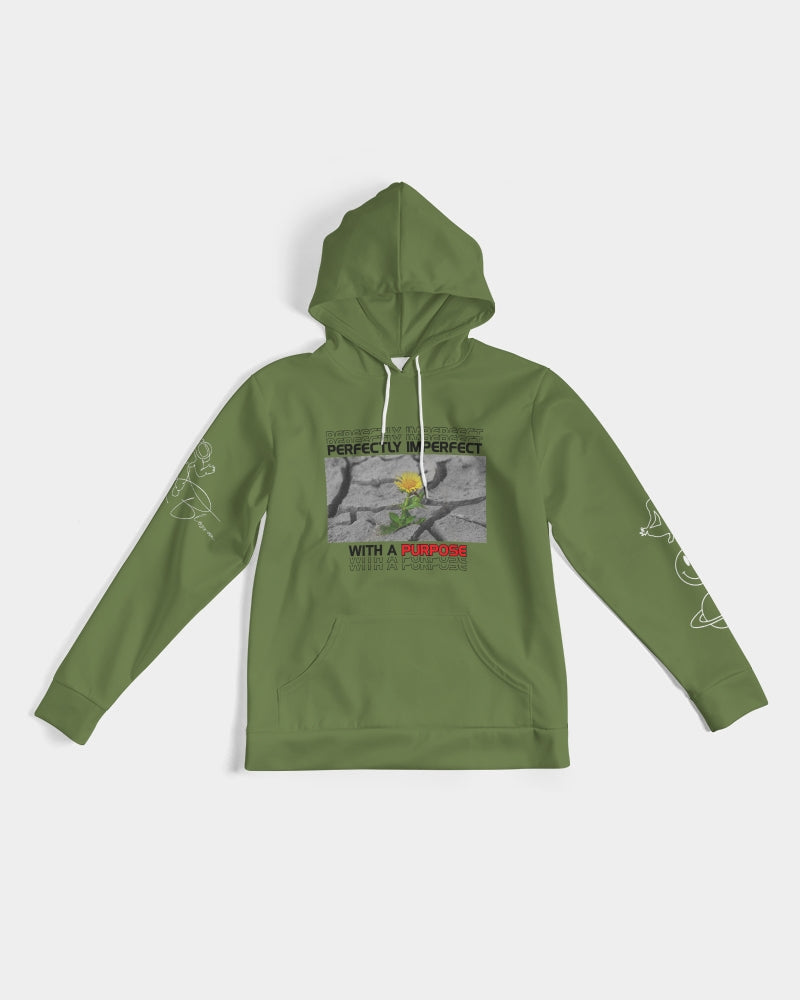 Rise & Blossom X Perfectly with Purpose Olive Green Men's Hoodie