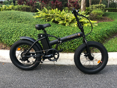 """Taco"" Foldable 20inch Fat Tire Bike - Available Now - 3 Left!"