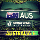AUSTRALIA Boxing Kangaroo Barrel Sticker
