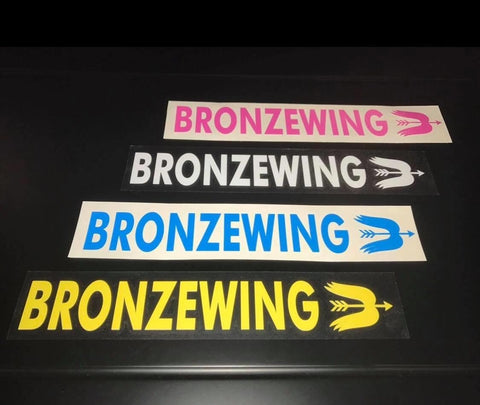 Sticker - BRONZE WING Barrel Sticker