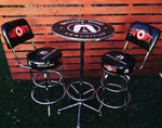 BRONZEWING / LAPORTE Bar Table & Bar Stools