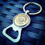BRONZE WING 12 gauge Keyring Bottle Opener