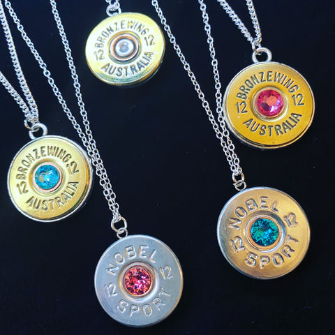 BRONZE WING & NSI Stirling Silver Necklaces