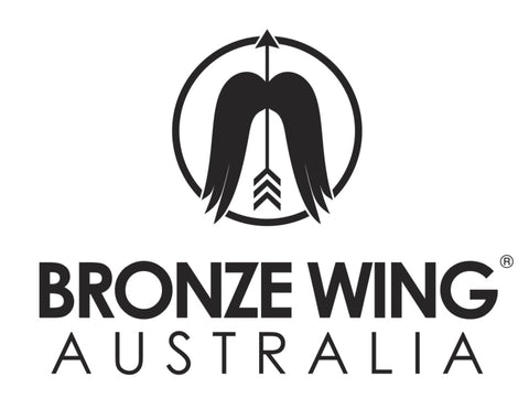 Sticker - BRONZE WING Australia (square)