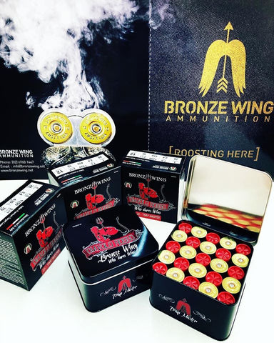 BRONZE WING Collector's Tin - Diavolo Rosso - BLACK