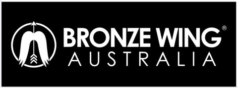 Sticker - BRONZE WING Australia (Black)