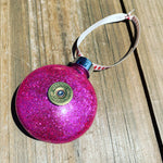 Christmas Bauble - Rockin Raspberry Sparkle