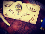 BRONZE WING 12 gauge Clutch purse