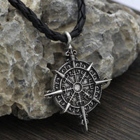 Odin Logo Pendant Necklace - FashionBazzaar