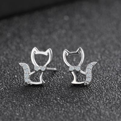 Sterling Silver Stud Earrings - FashionBazzaar