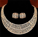 Piercing Fine African Bridal Necklace Sets - FashionBazzaar