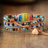 Chakra Multilayers Bead Bracelets - FashionBazzaar