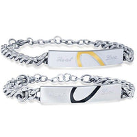 Real Love Couple Charm Bracelets - FashionBazzaar