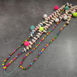 New Handmade Wood beads necklace - FashionBazzaar
