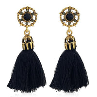 Dangle Tassel Bohemian Boho Earrings - FashionBazzaar