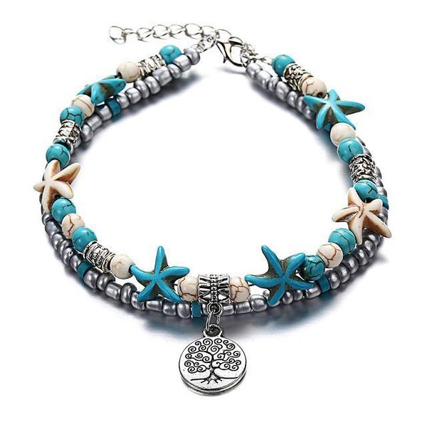 Boho Tree of Life Anklet - FashionBazzaar
