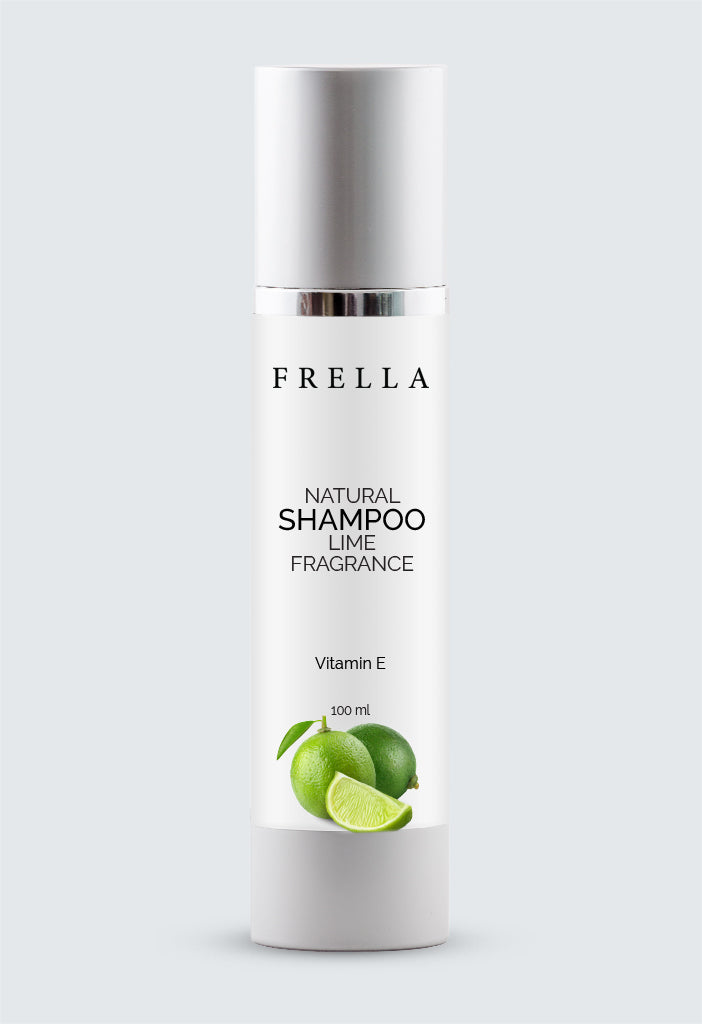 Frella Natural Shampoo Lime Fragrance with Vitamin-E