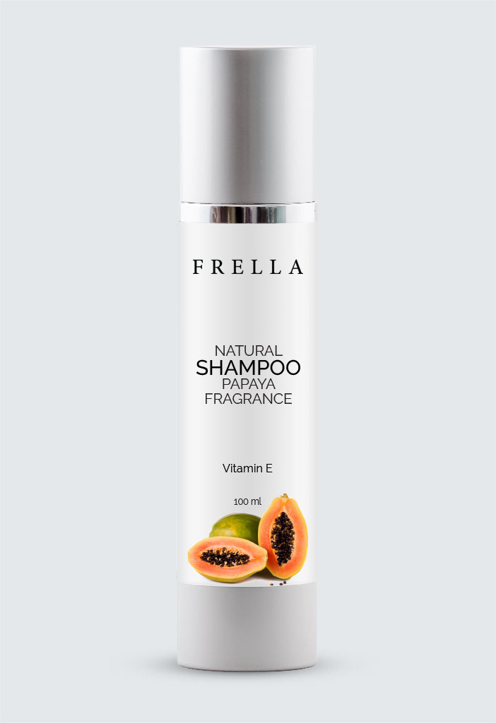 Frella Natural Shampoo Papaya Fragrance with Vitamin-E