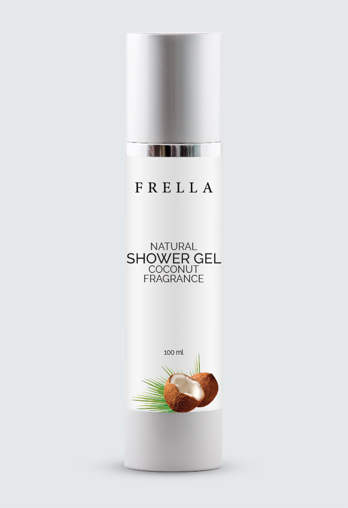 Frella Natural Shower Gel Coconut Fragrance