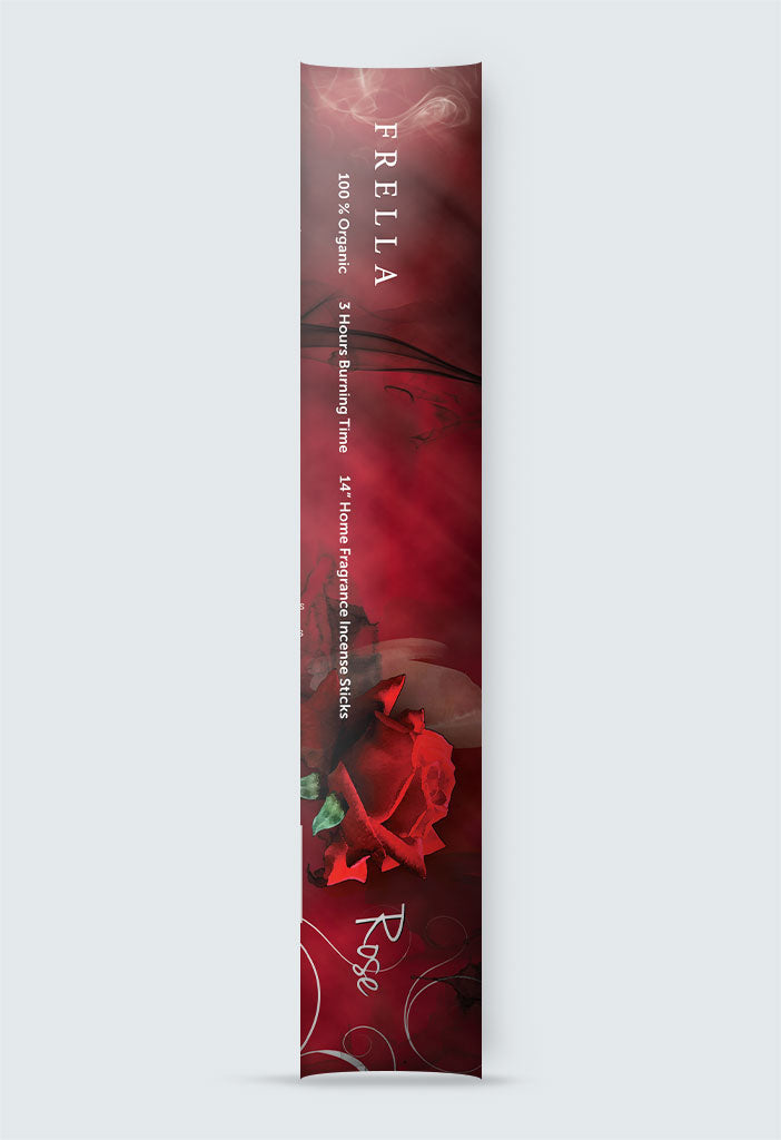 Natural Rose Fragrance Incense Sticks