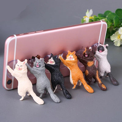 Hand Made Universal Cat Phone Stand