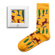 Yellow socks with gazelles Martiros Saryan