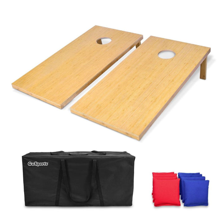 Bamboo Cornhole Set (Regulation Size)