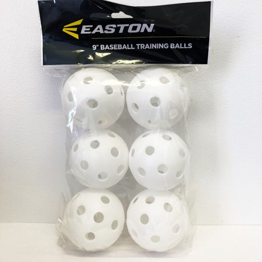 "9"" Plastic Baseball Training Balls"